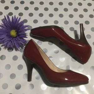 COLE HAAN RED PATENT SHOES! 👠